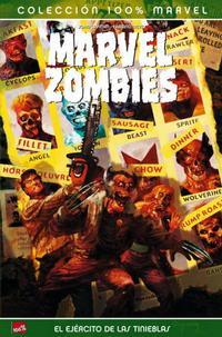 Cover Thumbnail for 100% Marvel: Marvel Zombies Vs. El Ejército de las Tinieblas (Panini España, 2008 series)