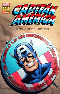 Cover Thumbnail for Marvel Gold: Capitán América de Roger Stern y John Byrne (Panini España, 2008 series) #1