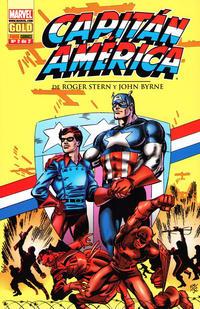 Cover Thumbnail for Marvel Gold: Capitán América de Roger Stern y John Byrne (Panini España, 2008 series) #2