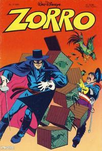Cover Thumbnail for Zorro (Hjemmet / Egmont, 1980 series) #3/1981