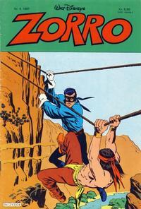 Cover Thumbnail for Zorro (Hjemmet / Egmont, 1980 series) #4/1981