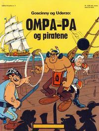 Cover Thumbnail for Ompa-Pa (Hjemmet / Egmont, 1973 series) #3 - Ompa-Pa og piratene