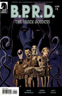 Cover Thumbnail for B.P.R.D.: The Black Goddess (Dark Horse, 2009 series) #1