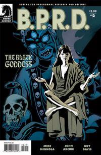 Cover Thumbnail for B.P.R.D.: The Black Goddess (Dark Horse, 2009 series) #2