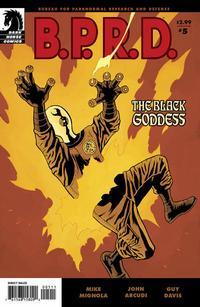 Cover Thumbnail for B.P.R.D.: The Black Goddess (Dark Horse, 2009 series) #5