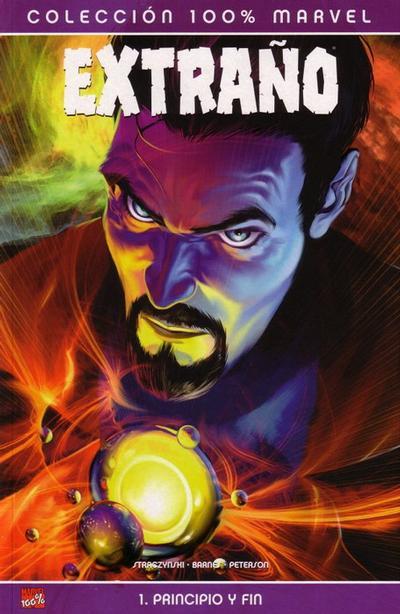 Cover for 100% Marvel: Extraño: Principio y Fin (Panini España, 2005 series)