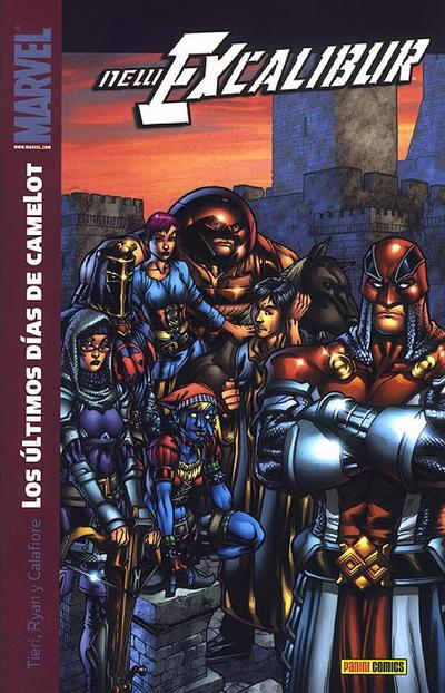 Cover for New Excalibur (Panini España, 2007 series) #3