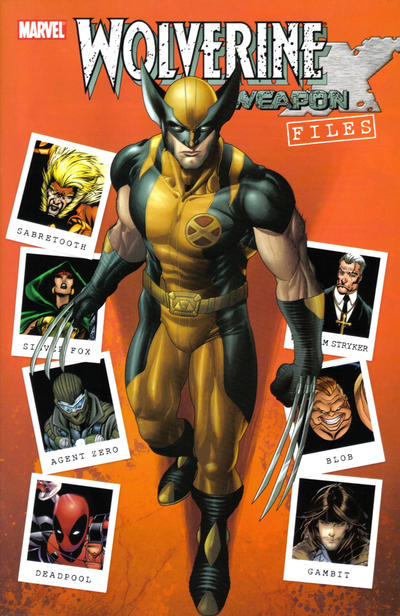 Cover for Wolverine: Weapon X Files (Marvel, 2009 series)