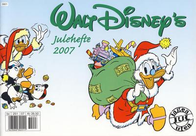 Cover for Walt Disney's julehefte (Hjemmet / Egmont, 2002 series) #2007 [Vanlig utgave]