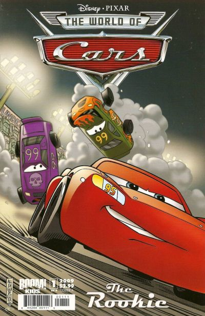Cover for Cars: The Rookie (Boom! Studios, 2009 series) #1 [Emerald City Comicon]