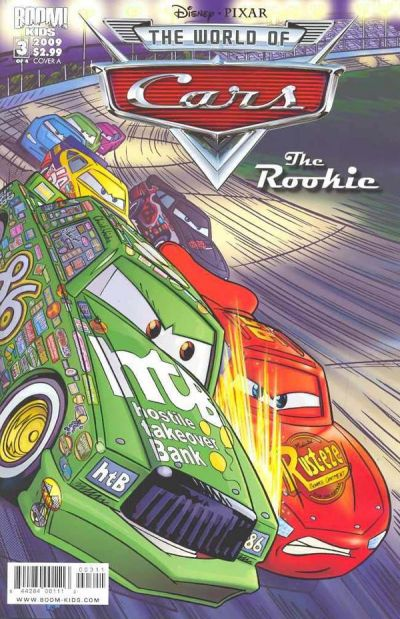 Cover for Cars: The Rookie (Boom! Studios, 2009 series) #3 [Heroes Con]