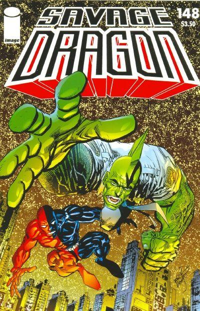 Cover for Savage Dragon (Image, 1993 series) #148
