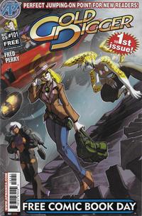Cover Thumbnail for Gold Digger #101: FCBD Edition (Antarctic Press, 2009 series)