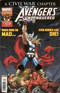 Cover Thumbnail for Avengers Unconquered (Panini UK, 2009 series) #4