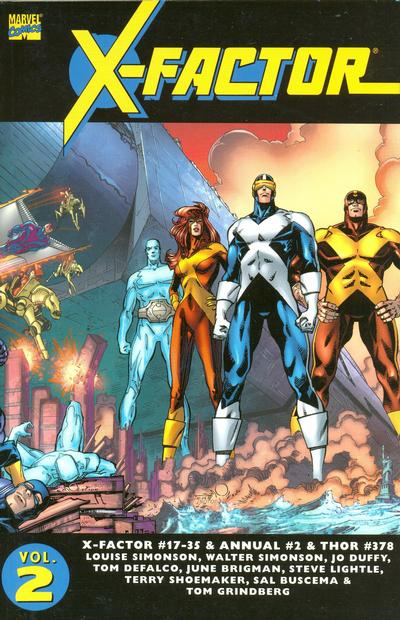 Cover for Essential X-Factor (Marvel, 2005 series) #2