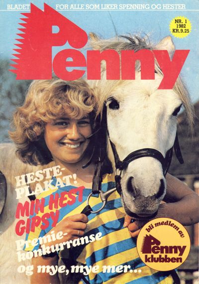 Cover for Penny (Serieforlaget / Se-Bladene / Stabenfeldt, 1982 series) #1/1982