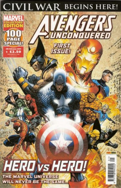 Cover for Avengers Unconquered (Panini UK, 2009 series) #1