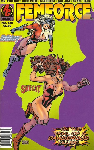 Cover for FemForce (AC, 1985 series) #148