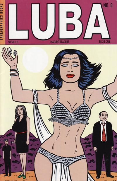 Cover for Luba (Fantagraphics, 1998 series) #8