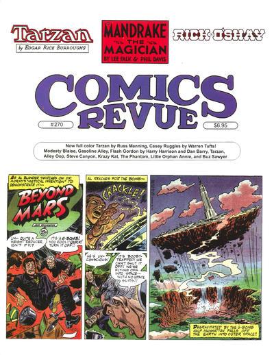 Cover for Comics Revue (Manuscript Press, 1985 series) #270