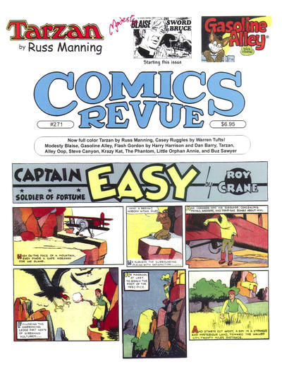 Cover for Comics Revue (Manuscript Press, 1985 series) #271