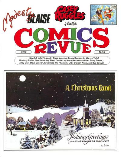 Cover for Comics Revue (Manuscript Press, 1985 series) #272