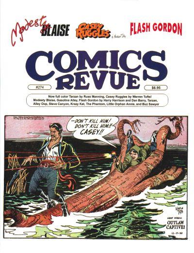 Cover for Comics Revue (Manuscript Press, 1985 series) #274