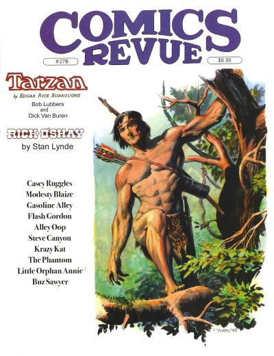 Cover for Comics Revue (Manuscript Press, 1985 series) #276