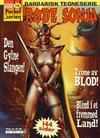 Cover for Pocketserien (Bladkompaniet / Schibsted, 1995 series) #19 - Røde Sonja - Trone av blod!