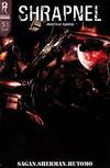 Cover Thumbnail for Shrapnel (2009 series) #5 [Cover B]
