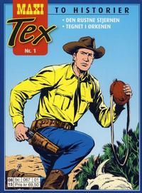 Cover Thumbnail for Maxi Tex (Hjemmet / Egmont, 2008 series) #1