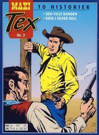 Cover Thumbnail for Maxi Tex (Hjemmet / Egmont, 2008 series) #2 - Den ville banden; Krig i Silver Bell