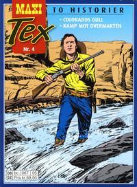 Cover Thumbnail for Maxi Tex (Hjemmet / Egmont, 2008 series) #4 - Colorados gull; Kamp mot overmakten