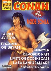 Cover Thumbnail for Pocketserien (Bladkompaniet / Schibsted, 1995 series) #1 - Conan
