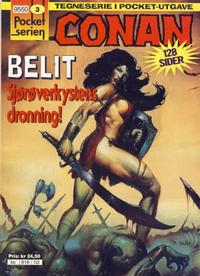 Cover Thumbnail for Pocketserien (Bladkompaniet / Schibsted, 1995 series) #3 - Conan