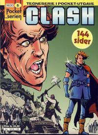 Cover Thumbnail for Pocketserien (Bladkompaniet / Schibsted, 1995 series) #5 - Clash