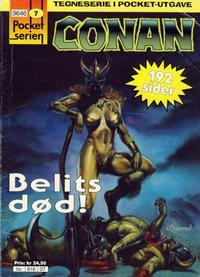 Cover Thumbnail for Pocketserien (Bladkompaniet / Schibsted, 1995 series) #7 - Conan