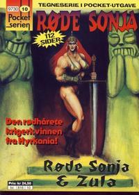 Cover Thumbnail for Pocketserien (Bladkompaniet / Schibsted, 1995 series) #10 - Røde Sonja
