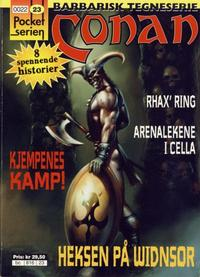 Cover Thumbnail for Pocketserien (Bladkompaniet / Schibsted, 1995 series) #23 - Conan