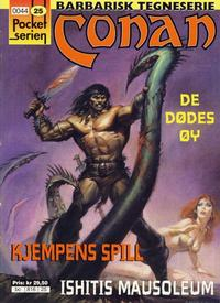 Cover Thumbnail for Pocketserien (Bladkompaniet / Schibsted, 1995 series) #25 - Conan - Kjempens spill