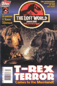 Cover Thumbnail for The Lost World: Jurassic Park (Topps, 1997 series) #4 [Photo Cover]