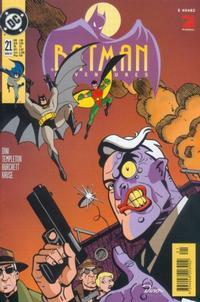 Cover Thumbnail for Batman Adventures (Dino Verlag, 1995 series) #21