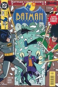 Cover Thumbnail for Batman Adventures (Dino Verlag, 1995 series) #24