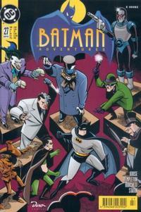 Cover Thumbnail for Batman Adventures (Dino Verlag, 1995 series) #27