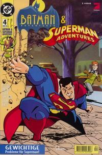 Cover Thumbnail for Batman Adventures & Superman Adventures (Dino Verlag, 1997 series) #4