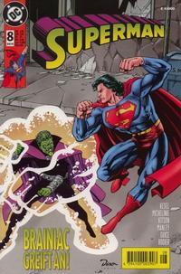 Cover Thumbnail for Superman (Dino Verlag, 1996 series) #8