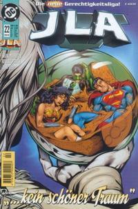 Cover Thumbnail for JLA - Die neue Gerechtigkeitsliga (Dino Verlag, 1997 series) #22