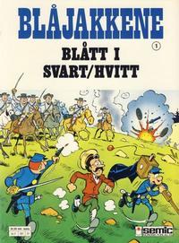 Cover Thumbnail for Blåjakkene (Semic, 1987 series) #1 - Blått i svart/hvitt