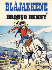Cover Thumbnail for Blåjakkene (Semic, 1987 series) #3 - Bronco Benny