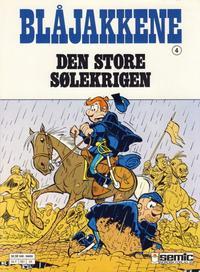 Cover Thumbnail for Blåjakkene (Semic, 1987 series) #4 - Den store sølekrigen